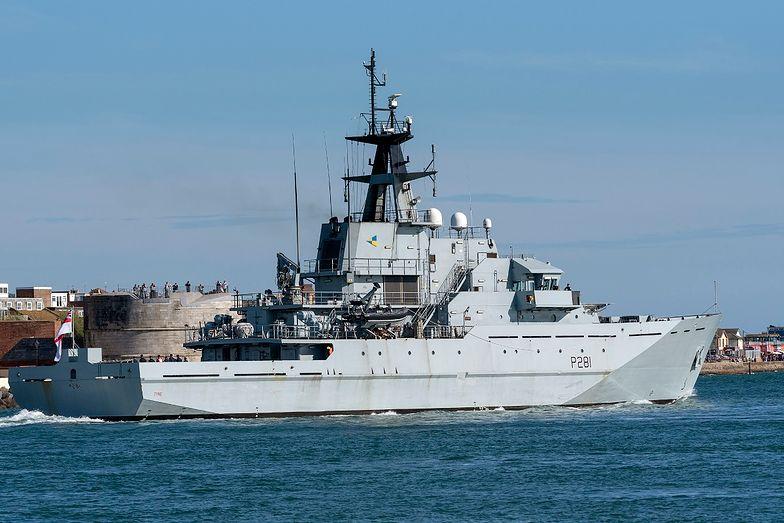 Rosja wysłała statek. Szybka reakcja Brytyjczyków