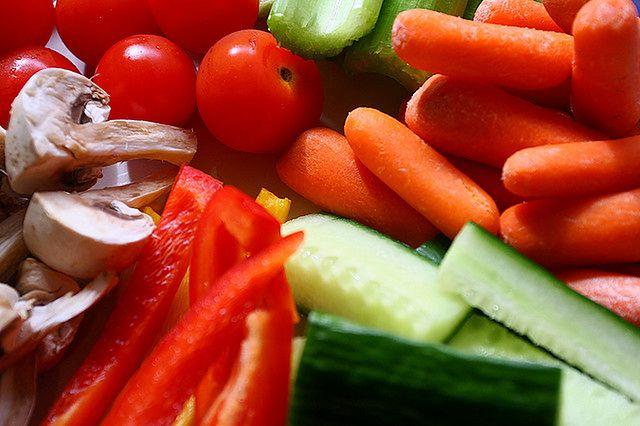 Zachowanie urody - warzywa