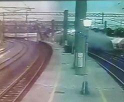 Tajwan. Nagranie katastrofy superszybkiego pociągu w sieci