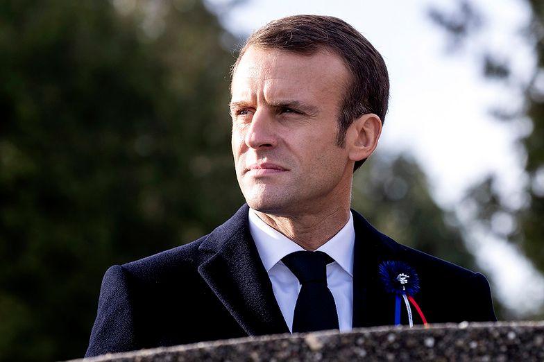 Plan ataku na Emmanuela Macrona. Zatrzymano 6 osób
