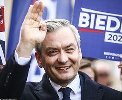 Wybory prezydenckie 2020. Robert Biedroń ogłasza start w walce o Pałac Prezydencki