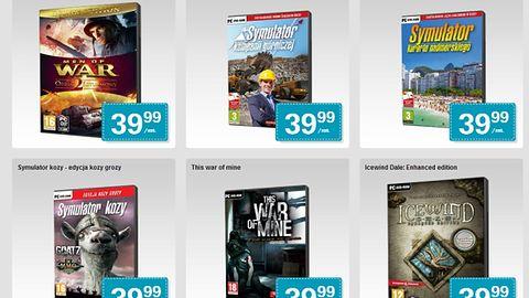 Deus Ex: Human Revolution, Fallout 3 z dodatkami, This War of Mine czy sześć części Settlersów - te i inne gry znajdziecie od dziś w Biedronce