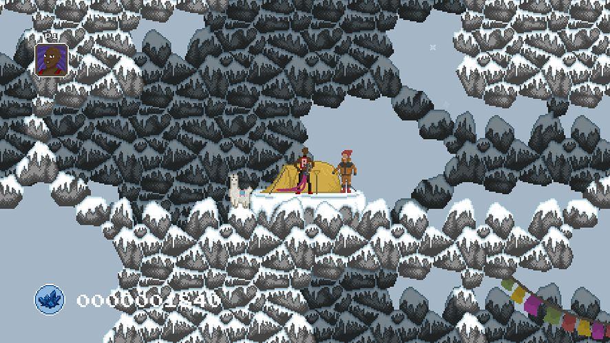 Wspinaczka w krzywym zwierciadle w grze Climbros