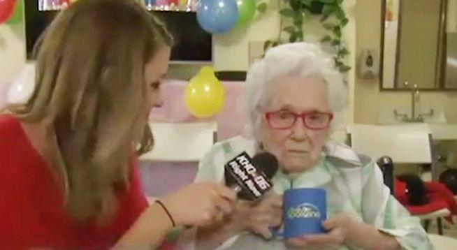 Miała gdzieś urodziny i irytującą dziennikarkę