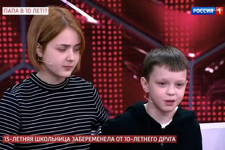 Rosja. 13-latka zaszła w ciążę z 10-latkiem. Została gwiazdą social mediów