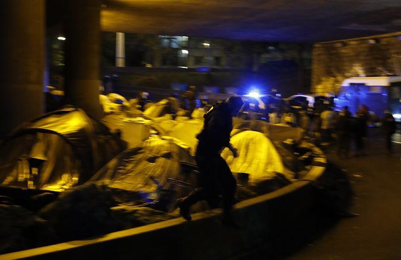 Francja. Policja zabrała się za imigrantów w Paryżu