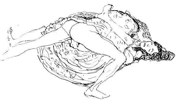 Ilustracja przedstawiająca pozycję misjonarską