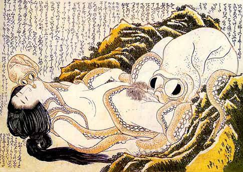 Ilustracja fantazji seksualnej