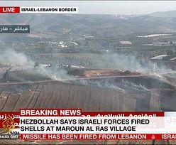 Starcia na Bliskim Wschodzie. Hezbollah atakuje terytorium Izraela, Izrael bombarduje południowy Liban