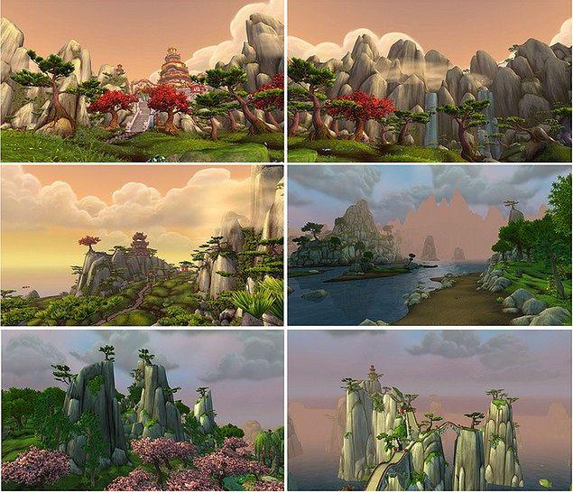 World of Warcraft - krajobrazy