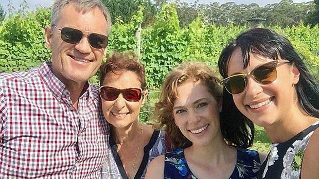 Rodzina Falkholt (Jessica po prawej)