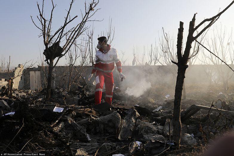 Iran. Nowe doniesienia ws. katastrofy samolotu w Teheranie