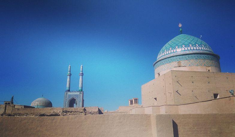 Widoki w mieście Jazd robią wrażenie