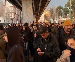 Iran. Wściekłość po zestrzeleniu samolotu. Irańczycy na ulicach Teheranu