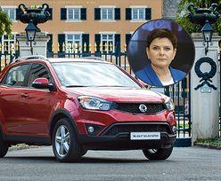 Samochody nowo wybranych posłów do Europarlamentu