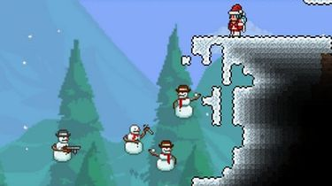 Kiedy pada śnieg, Terraria dostaje świąteczną aktualizację