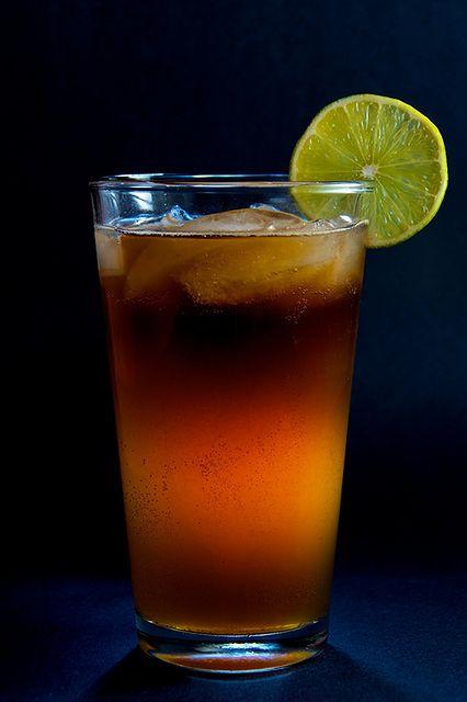 Szklanka mrożonej herbaty
