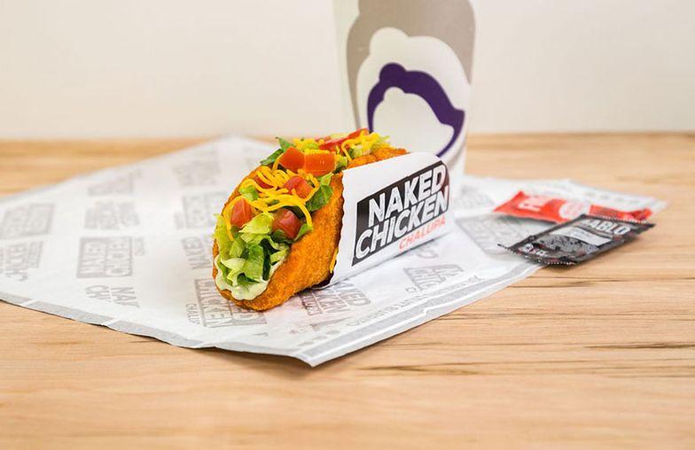 Nagi kurczak z Taco Bell