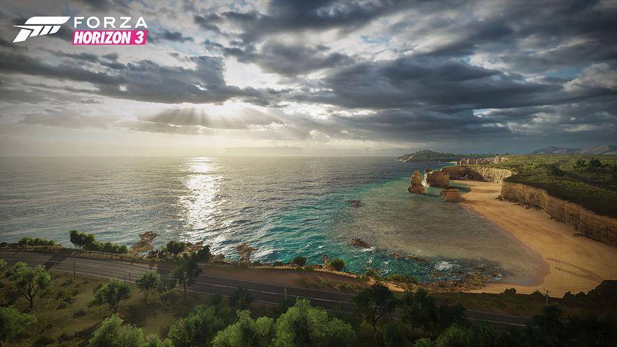 Spędzić noc pod australijskim niebem... w Forza Horizon 3