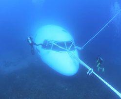 Samolot na dnie morza. Z lotniska prosto do wody