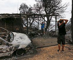 Grecja. Wielkie pożary najprawdopodobniej były wynikiem podpalenia