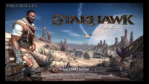 Co ja gram: beta Starhawk