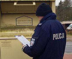 Młody mężczyzna ze Słupska zmarł w pojemniku Caritasu