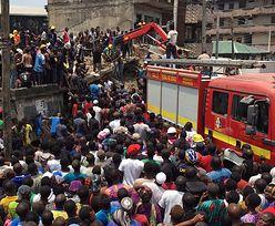 Nigeria: Runął trzypiętrowy budynek. Pod gruzami ok. 100 uczniów