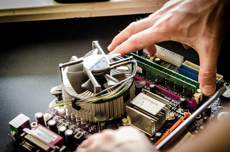 Awarie komputerów