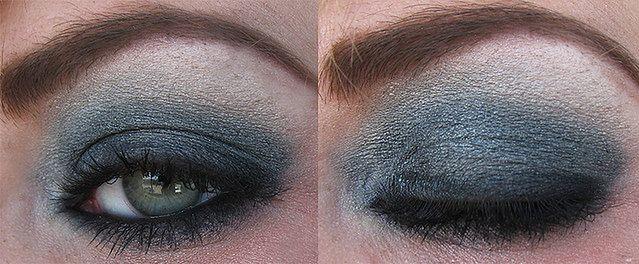 Mocny makijaż oczu