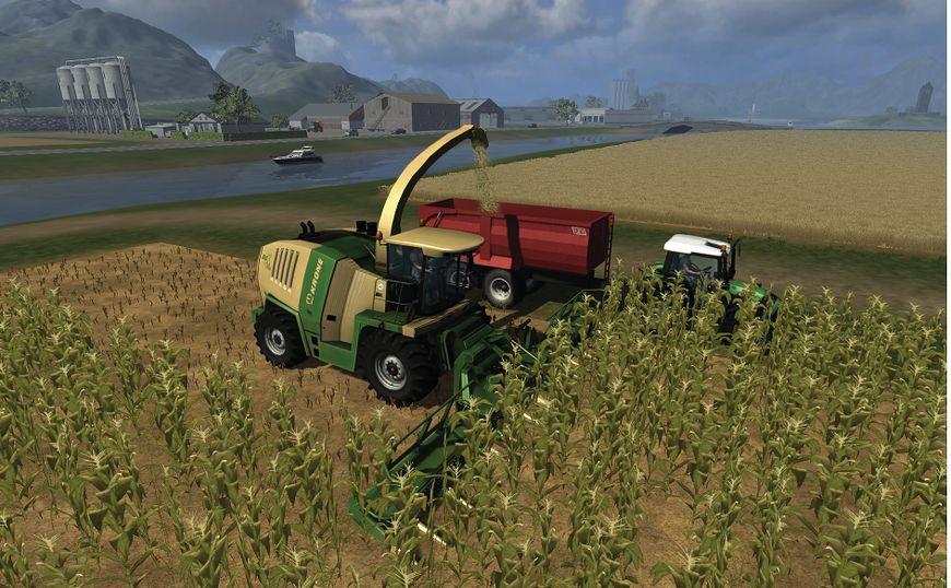Areał w Symulatorze farmy