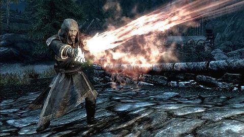 The Elder Scrolls V: Skyrim - galeria, od której wieje chłodem