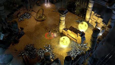 Zagadki w Lara Croft and The Temple of Osiris mają w sobie dużo z dyskoteki