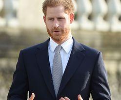 """Książę Harry przerwał milczenie. """"To nie była łatwa decyzja"""""""