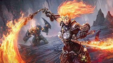 Na nowym trailerze z Darksiders III Furia stoi trzy ćwierci od śmierci