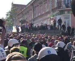 Awantury na marszu równości. W ruch poszły armatki wodne