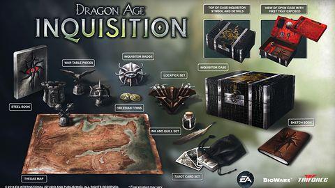 Kolekcjonerskie wydanie Dragon Age: Inkwizycja wystarczy do umeblowania biura