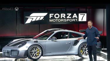 Szkoda, że Microsoft robi z Forzy Motorsport 7 dźwignię Xboksa One X