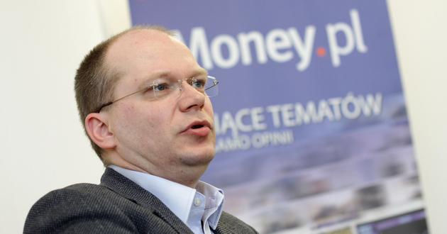 Na zdj. Wojciech Gurgul, prezes PGS Software<br>