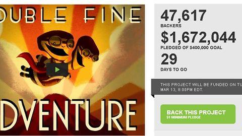 To ile pieniędzy zebrało już Double Fine Adventure?