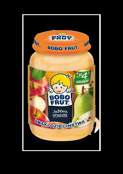 BOBO FRUT jabłko, gruszka