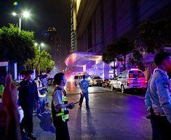 Płonął hotel w Bangkoku. Turyści skakali z okien