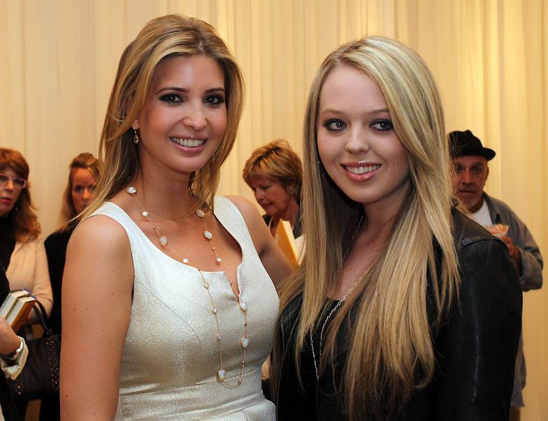 Ivanka Trump i jej przyrodnia siostra, Tiffany Trump.