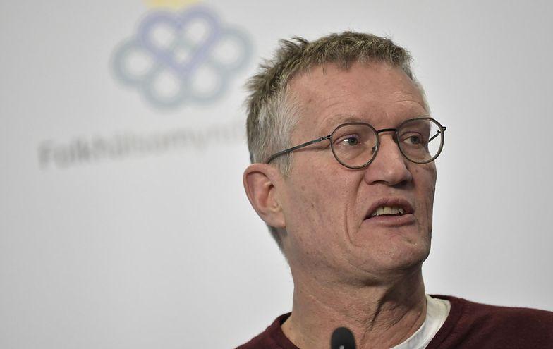 Anders Tegnell jest szefem zespołu epidemiologów w Agencji ds. Zdrowia Publicznego w Szwecji.