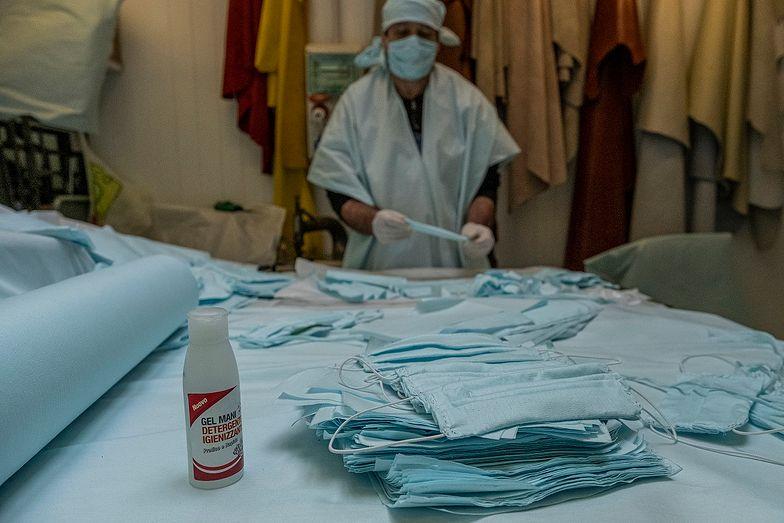 Koronawirus. W Polsce zatrzymano maseczki, które kupili Włosi