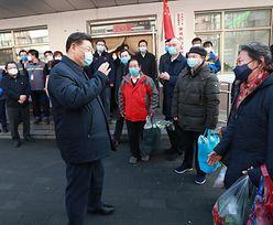 """Koronawirus. Xi Jinping wyszedł do ludzi. """"Nie podawajmy sobie rąk"""""""
