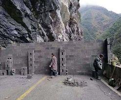Chiny. Miasta stawiają mury, żeby zapobiec rozprzestrzenianiu się wirusa