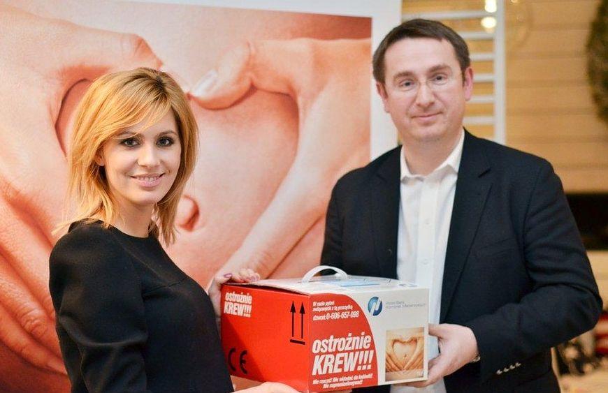 Agnieszka Popielewicz i dr Tomasz Baran