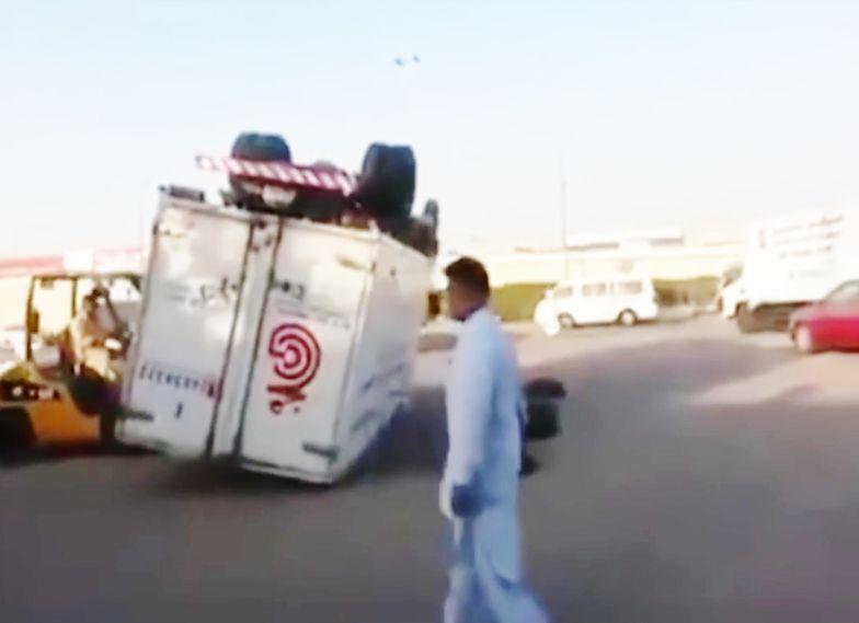 #bezkomentarza Po wypadku w Kuwejcie