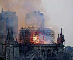 Pożar Notre Dame. Lesley Rowan zobaczyła w płomieniach... Jezusa